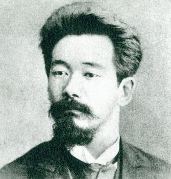 Jigoro Kano quando jovem...